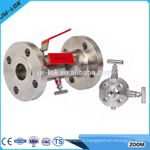 Best-selling stainless steel double block bleed valve