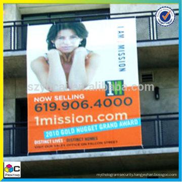 Big banner PVC, banner sign outdoor, Vertical Hang Banner
