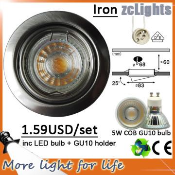 5W LED Down luz COB LED Downlight Precio (DL-GU10 5W)