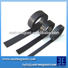 high quality Flexible magnet for sale/black Magnetic flexible rubber magnets