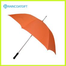 Guarda-chuva de golfe grande tamanho à prova de vento em linha reta