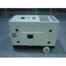CE aprovado preço de fábrica 5-20kw pequeno gerador diesel silencioso