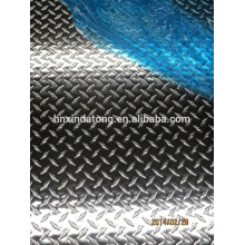 hoja de aluminio estampada