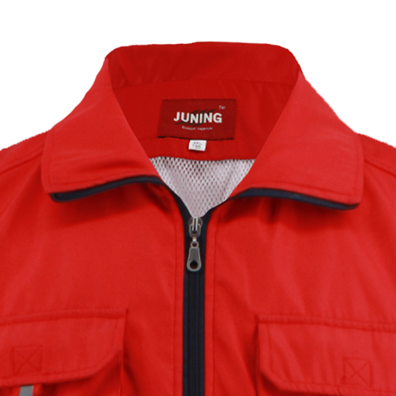 crimson summer working vest