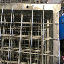 Clôture soudée en PVC pour chien