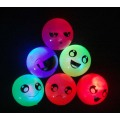 Funny Face Flashing Bounce Balls 55MM