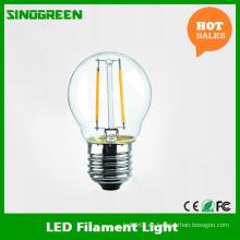 LED bombilla de filamento de luz E27 2W lámpara de filamento LED