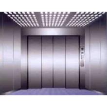 2000KG Hairline Stainless Steel 2000KG Medical Elevator Four Panel