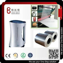 Speedbird zinc coated sheet metal for home appliances