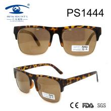 Demi Brown Woman Style Fashion Óculos de sol (PS1444)