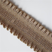 ruffled lace elastic band using for garment