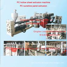Polycarbonat-Blatt, das die Maschine / Blatt-Herstellungs-Maschine herstellt