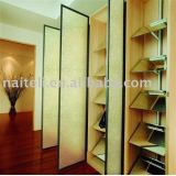 Interior Decorative Transparent Resin Wall Panel with Floral Pebble