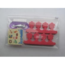Lovely Fake Kits Sets With Cartoon Nail File EVA And Plasti