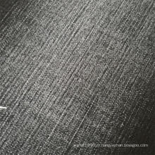 Tissu denim lycra bambou noir pour jeans legging