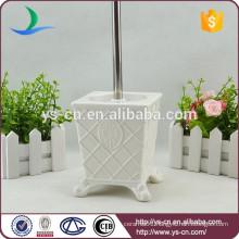 YSb50070-01-tbh Royal elegance design ceramic bath toilet brush holder
