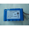 Custom 18650 battery pack 22.2V 10Ah with smbus