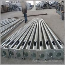 3m 5m 9m 12m 15m hot dip galvanized steel lamp post steel street lighting pole for square lighting