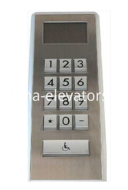 Schindler Elevator COP for the Disabled 59321493