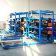 Línea de producción de EPS rollo de panel sándwich eps que forma la máquina