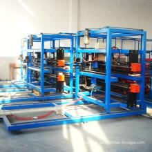 Feuille de mousse de polyuréthane faisant la machine / chambre froide sandwich chaîne de production de panneaux eps formant la machine