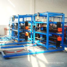 Continuous production line of pu sandwich panels machinery production line