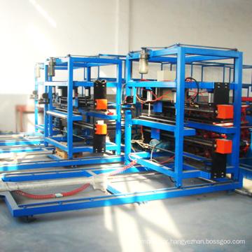 Polyurethane foam sheet making machine/cold room sandwich eps panel production line roll forming machine