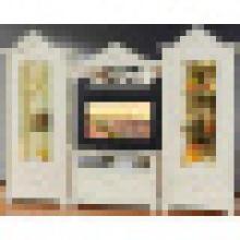 Soporte de TV y armario de vino para muebles de sala de estar (311)