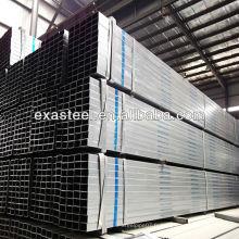 Tianjin JIS soudé pré-galvanisé tube rectangulaire