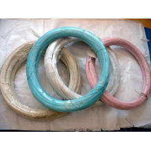 E - Hebei proporciona alambre revestido del PVC de la alta calidad en China