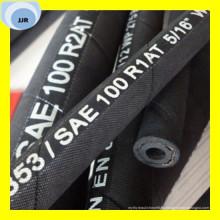 Manguito hidráulico de trenza de alambre de calidad superior SAE 100 R1 at / DIN En 853 1sn
