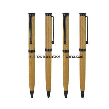 Penna di legno personalizzata di disegno di lusso professionale per la promozione