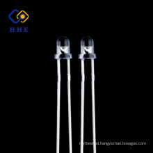 Through Hole Package Type Dip 3mm Led Diode