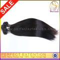 Coser en tejido sedoso recto extensión del pelo humano de 24 pulgadas