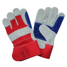 Kuh Split Leder Anti Schneiden Work Handschuhe mit doppelten Palm