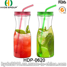 Hot Sale Colorful BPA Free Tritan Juice Water Bottle, 900ml Plastic Water Bottle (HDP-0620)