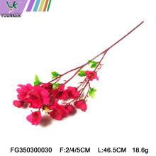 Casamento arco decoração flores de cerejeira artificiais