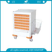 AG-Mt036 Medical Trolley mit Schubladen