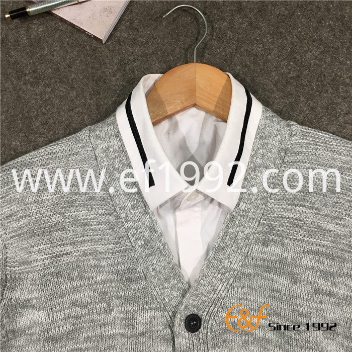 men cardigan sweater