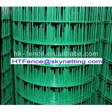 1х1 дюйм покрынная PVC сваренная ячеистая сеть