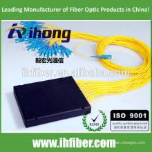 SC FC ST LC 1 * 2/1 * 4/1 * 8/1 * 16/1 * 32 Divisor de PLC de fibra óptica