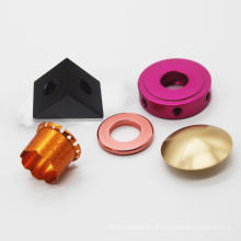 CNC-Bearbeitungsteile Aluminium-Drehteile
