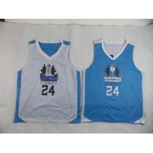 Custom Unisex Mesh Basketball Jerseys Mens Sports Wear , Em