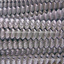 50 x 50mm GI and PVC Chain-link Wire Mesh