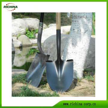 Carbon Steel Digging Shovel with Long Handle
