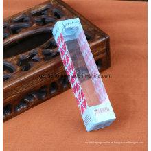 Caja plástica plegable impresa de encargo (caja de embalaje de PP / PVC / PET)