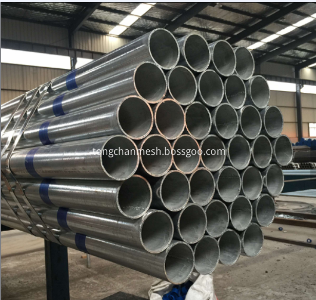 New Design Galv. Steel Pipes