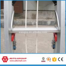 Escalera entera de la extensión de la cuerda de ADTO de la venta, escaleras de aluminio al por mayor, escalera de paso plegable