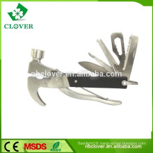 Multi function tool for mergency &safety using with knife and hammer