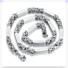 Modeschmuck Schmuck Halskette Edelstahl Kette (SH056)